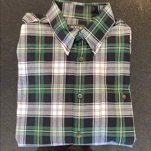 Orvis Plaid Flanel Shirt